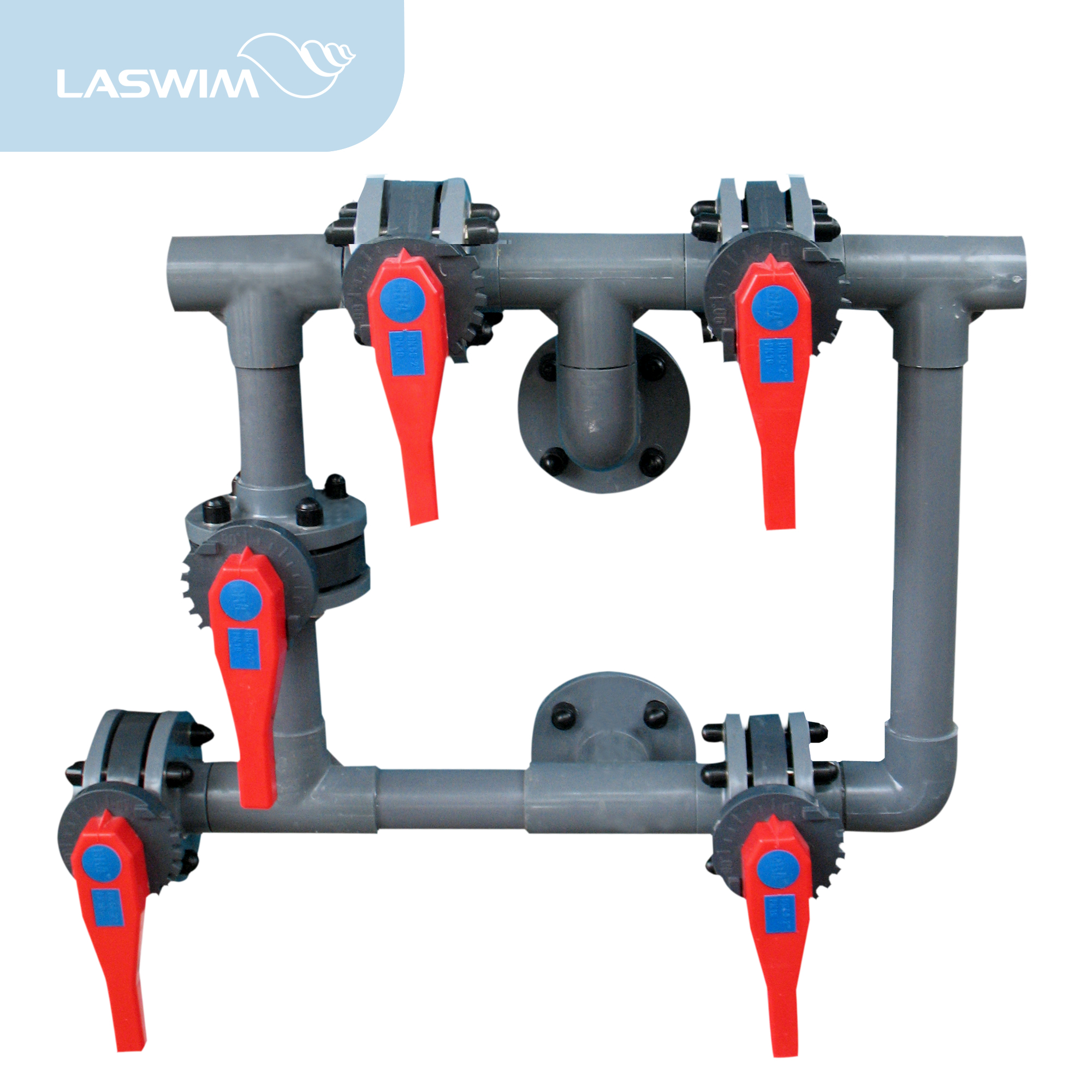 5-Way Butterfly Valve For Commercial Sand Filter